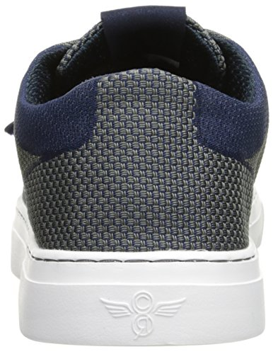 Creative Recreation Men's Cesario Lo Woven Fashion Sneaker, Navy Pewter, 11 M US