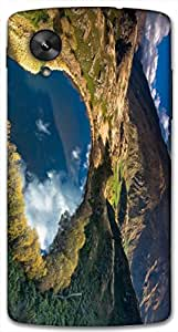 Timpax protective Armor Hard Bumper Back Case Cover. Multicolor printed on 3 Dimensional case with latest & finest graphic design art. Compatible with Google Nexus-5 Design No : TDZ-27068