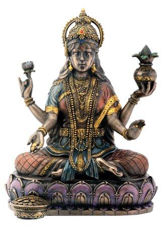 bronze-hindu-goddess-lakshmi-on-lotus-hinduism-display-statue