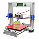 Print 5 materials Geeetech Prusa Reprap Aluminum I3 DIY LCD filament 3D Printer support 5 materials +1KG free PLA filament by Bestlife [並行輸入品]