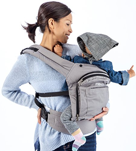 Mo+m® Classic Cotton 3 Position Baby Carrier