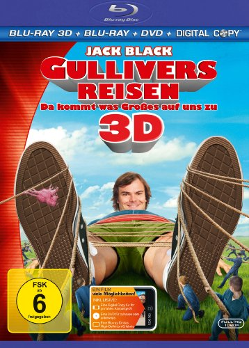 Gullivers Reisen - Da kommt was Großes auf uns zu (inkl. Blu-ray + DVD + Digital Copy) [3D Blu-ray]