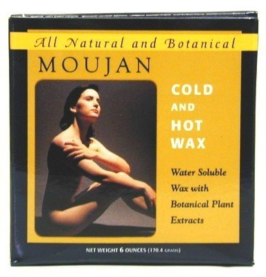 Moujan Cold & Hot Wax Jar 177 ml (3-Pack)