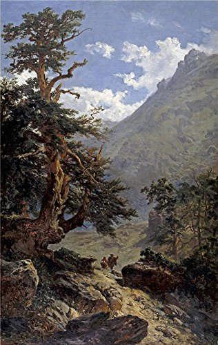 Oil Painting 'Haes Carlos De La Vereda 1871', 20 x 32 inch / 51 x 80 cm , on High Definition HD canvas prints is for Gifts And Bar, Game Room And Gym Decoration, wall decor (Sewing Machine Accesory Bible compare prices)