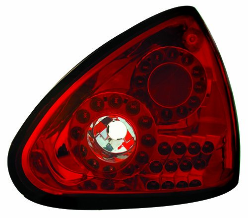 Ipcw Ledt-1112Cr Ruby Red Led Tail Lamp - Pair