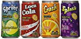 Kidsmania Soda Can Fizzy Candy 72 Can Variety Pack, 17.78 oz