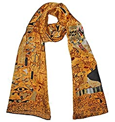 Olina Women's High-Grade Elegant 100% Luxury Long Silk Scarf Shawl (LS015)