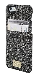 Hex Protective Wallet Case for iPhone 6/6s - Retail Packaging - Black/White Stingray