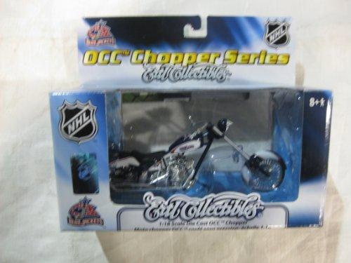 OCC Chopper Series Ertl Collectibles 1:18 Scale Die-Cast OCC Chopper NHL Columbia Blue Jackets