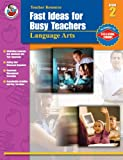 Fast Ideas for Busy Teachers: Language Arts, Grade 2 (0768228026) by Armstrong, Linda