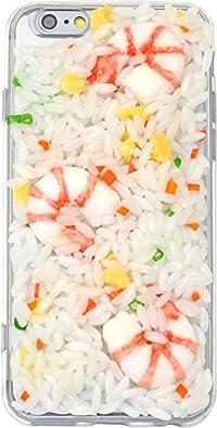 PLATA iPhone6 iPhone6s 用 食品 サンプル ケース iPhone 6 6s 【 チャーハン 】 IP6-9008-02