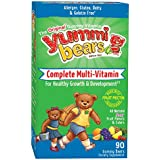 Yummi Bears Vegetarian Multi-Vitamin & Mineral for Kids, 90 Gummy Bears