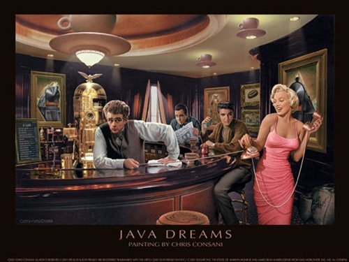 Java Dreams Chris Consani Poster
