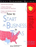 How to Start a Business in Texas ~ Forms and Instructions Included (Legal Survival Guides)
