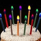 K�che & Haushalt - Geburtstagskerzen ANGEL FLAMES mit farbigen Flammen