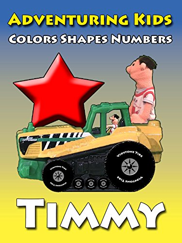 Adventuring Kids - Colors, Shapes and Numbers - Timmy
