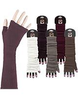 1 PAAR Armstulpe kurz Handschuhe ohne Finger