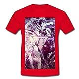 Wölfe Männer T-Shirt von Spreadshirt®, 4XL, Rot