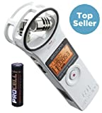 Zoom H1 2.0 White Weiß Recorder MP3 Wave + Batterie