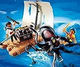 PLAYMOBIL® 4291 - Piraten - Riesenkrake mit Floß