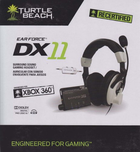 Recertified Turtle Beach Ear Force Dx11 Surround Sound Gaming Headset