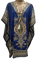 HOLIDAY SUITCASE LTD-WOMANS BEACH KAFTAN LONG TOP 3 COLOURS TO SELECT FROM