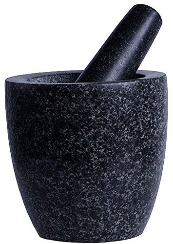 iapyx Mortier avec pilon en pierre naturelle brute Pilon partiellement poli