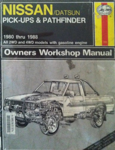 Nissan/Datsun Pick-ups and Pathfinder, 1980-88, All 2WD and 4WD Models with Gasoline Engine