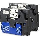 2x Schriftband kompatibel für Brother TZ251 TZ-251 24mm SET
