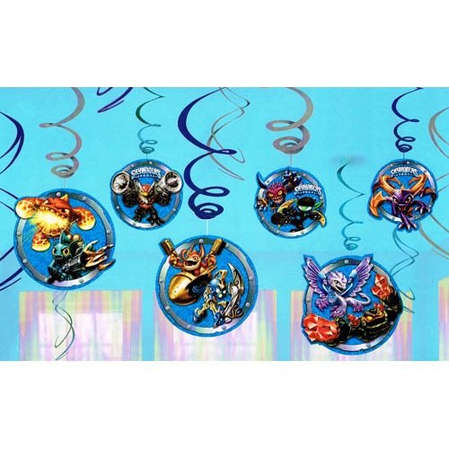 Skylanders Swirl Hanging Decorations