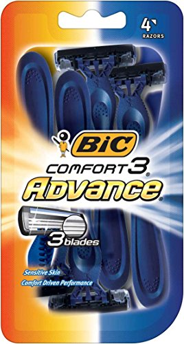 BIC-Comfort-3-Advance-Disposable-Razor-Men-4-Count-Pack-of-6