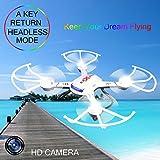 s-idee-01502-Quadrocopter-S181C-HD-KAMERA-45-Kanal-24-Ghz-Drohne-mit-Gyroscope-Technik