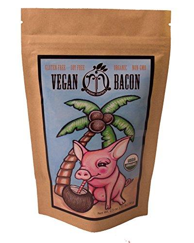 Organic Coconut Bacon (3 Pack/Bags) – Vegan, Soy Free, Gluten Free, Non-GMO, Piggy Free!