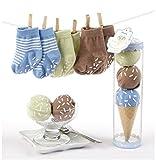 Baby Geschenkset Sweet Feet blau
