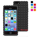 Snugg iPhone 5 / 5S Silicone Case in Black – Non-Slip Material, Protective and Soft to Touch for the Apple iPhone 5 / 5S Reviews