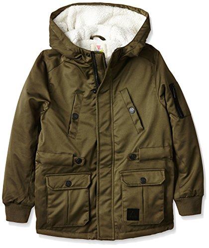 Eleven Paris - PERCY, Cappotto per bambini e ragazzi, marrone (beech), 10 anni (Taglia produttore: 10 anni)