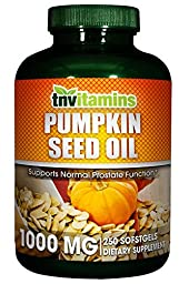 Pumpkin Seed Oil Softgels - 250 Softgels