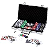 Maxam 309 Piece Poker Chip Set in Aluminum Case