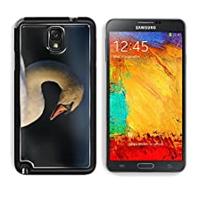 buy Msd Samsung Galaxy Note 3 Aluminum Plate Bumper Snap Case Portrait Of A Mute Swan Image 20551161