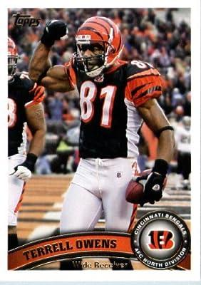 2011 Topps Football Card #272 Terrell Owens - Cincinnati Bengals - NFL Trading Card