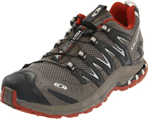 Salomon Men's XA Pro 3D Ultra 2 Running Shoe,Swamp/Black/Deep Red,11 M US