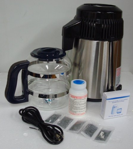 Nutriteam Stainless Countertop Water Distiller