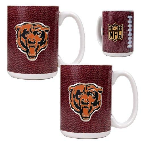Nfl Chicago Bears Two Piece Gameball Coffee Mug Set