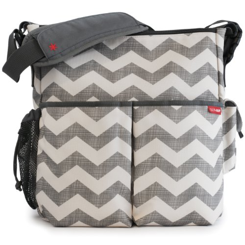 Skip Hop Duo Essential Diaper Bag, Chevron