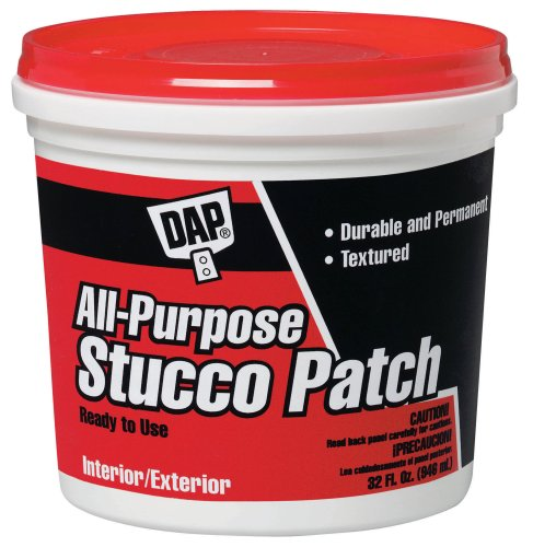 Dap 10504 All-Purpose Ready-To-Use Stucco Patch, 1-Quart