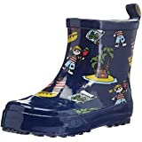 Playshoes Kurzer Gummistiefel Pirat, Alloverdruck 180363