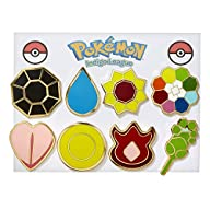 Pokemon Gym Badges – Kanto Gen 1 (Gol…