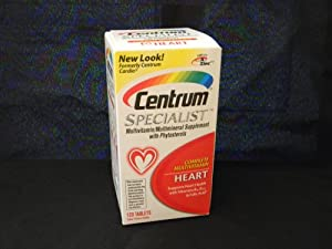 Centrum Specialist Heart, 120 Count