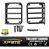 Xtreme® 2007 - 2015 Jeep Wrangler JK Unlimited Black Light Guard For Rear Taillights ( Tail Light ) Cover - Pair