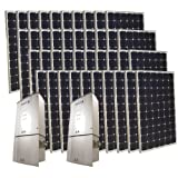 Grape Solar GS-10K-KIT 10000-Watt Monocrystalline PV Grid-Tied Solar Power Kit